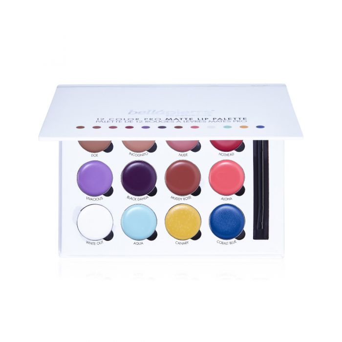 Bellapierre 12 color pro lip palette