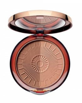 Long lasting bronzing compact powder #50 almond