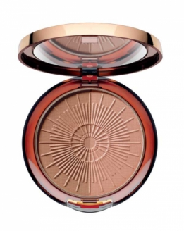 Long lasting bronzing compact powder #90 toffee