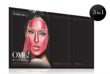 double dare platinum hot pink facial mask kit